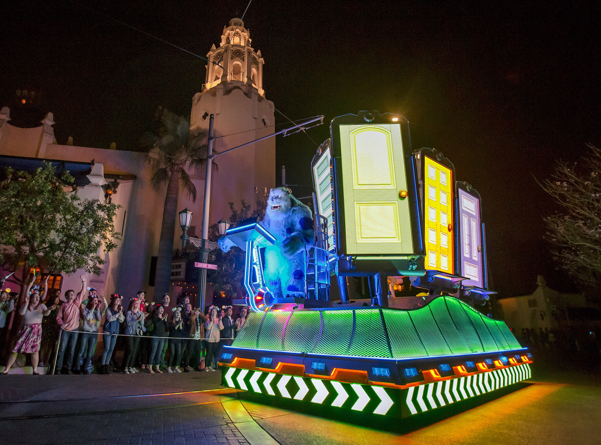 Sully in Pixar Fest Parade of Lights