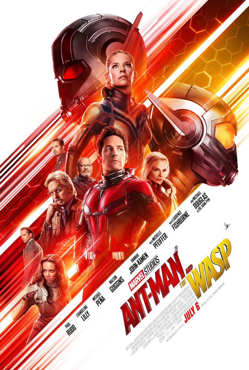 Ant-Man And The Wasp Trailer and Movie Poster