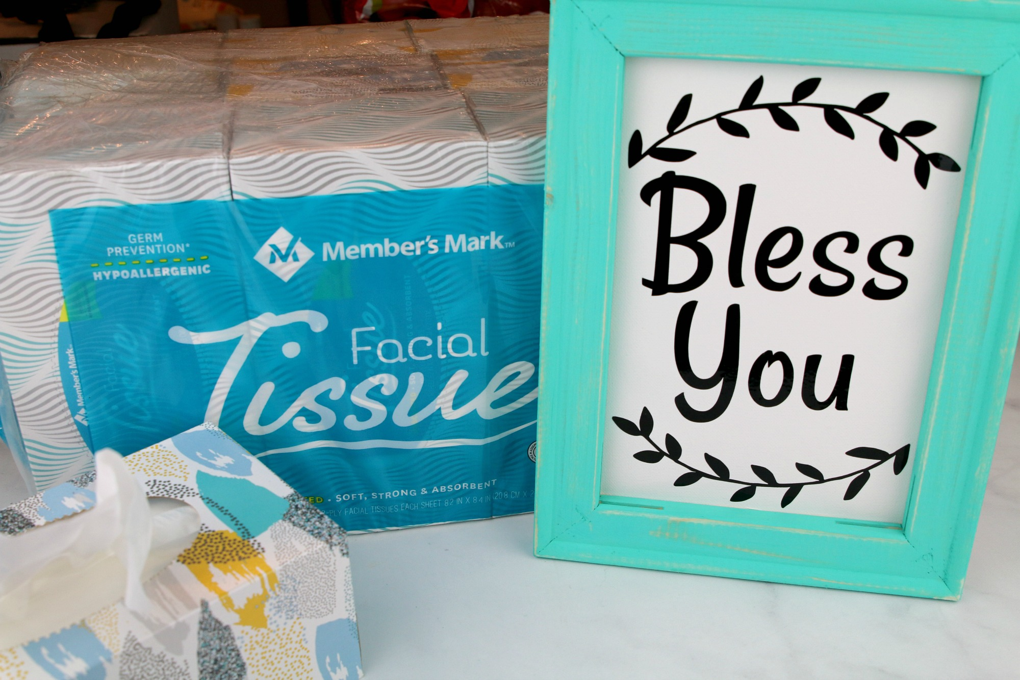 DIY Bless You Farmhouse Frame