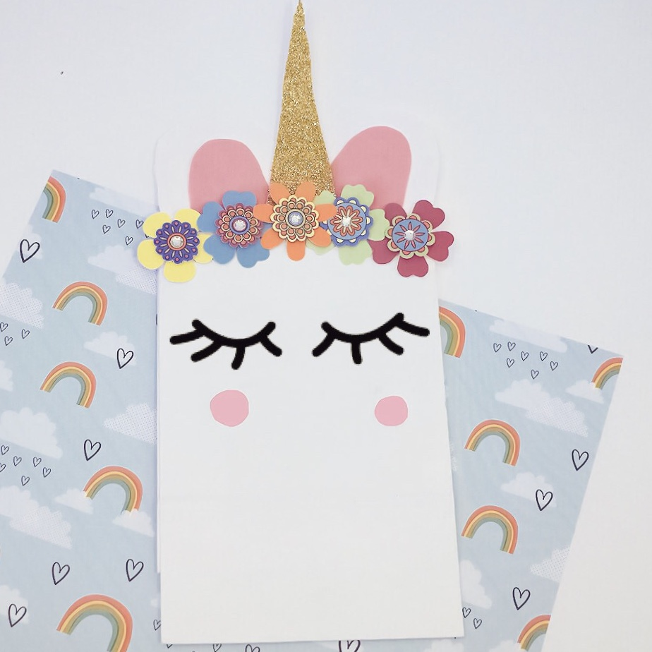 DIY Unicorn Gift Bag