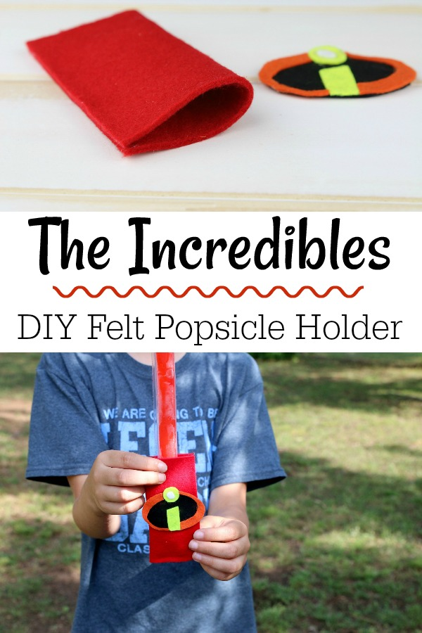 Disney Pixar Incredibles Popsicle Holder