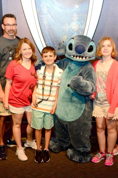 Family with Stitch