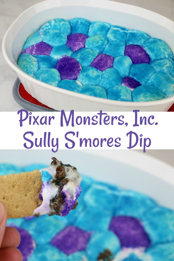 Pixar Monsters, Inc. Sully S'mores Dip