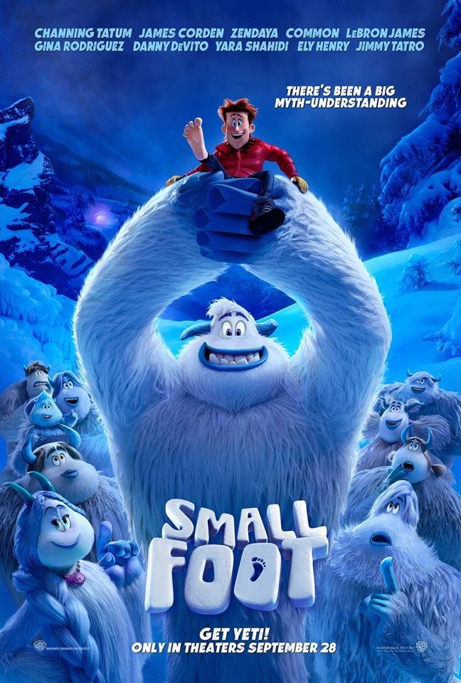 Small Foot Movie Trailer and Poster