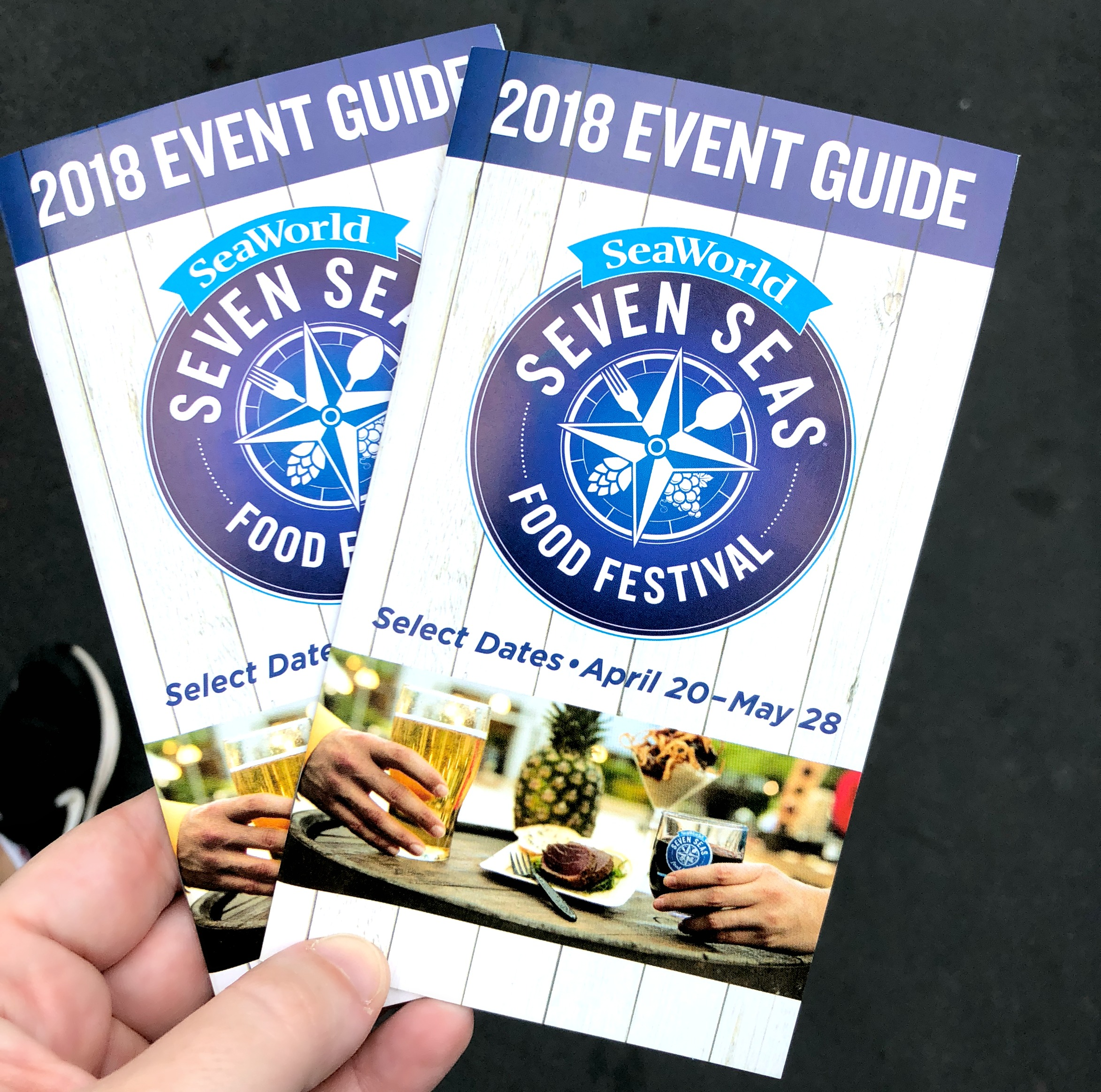 SeaWorld Seven Seas Food Festival Passport