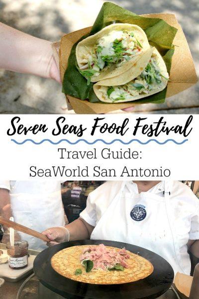 SeaWorld Seven Seas Food Festival in San Antonio