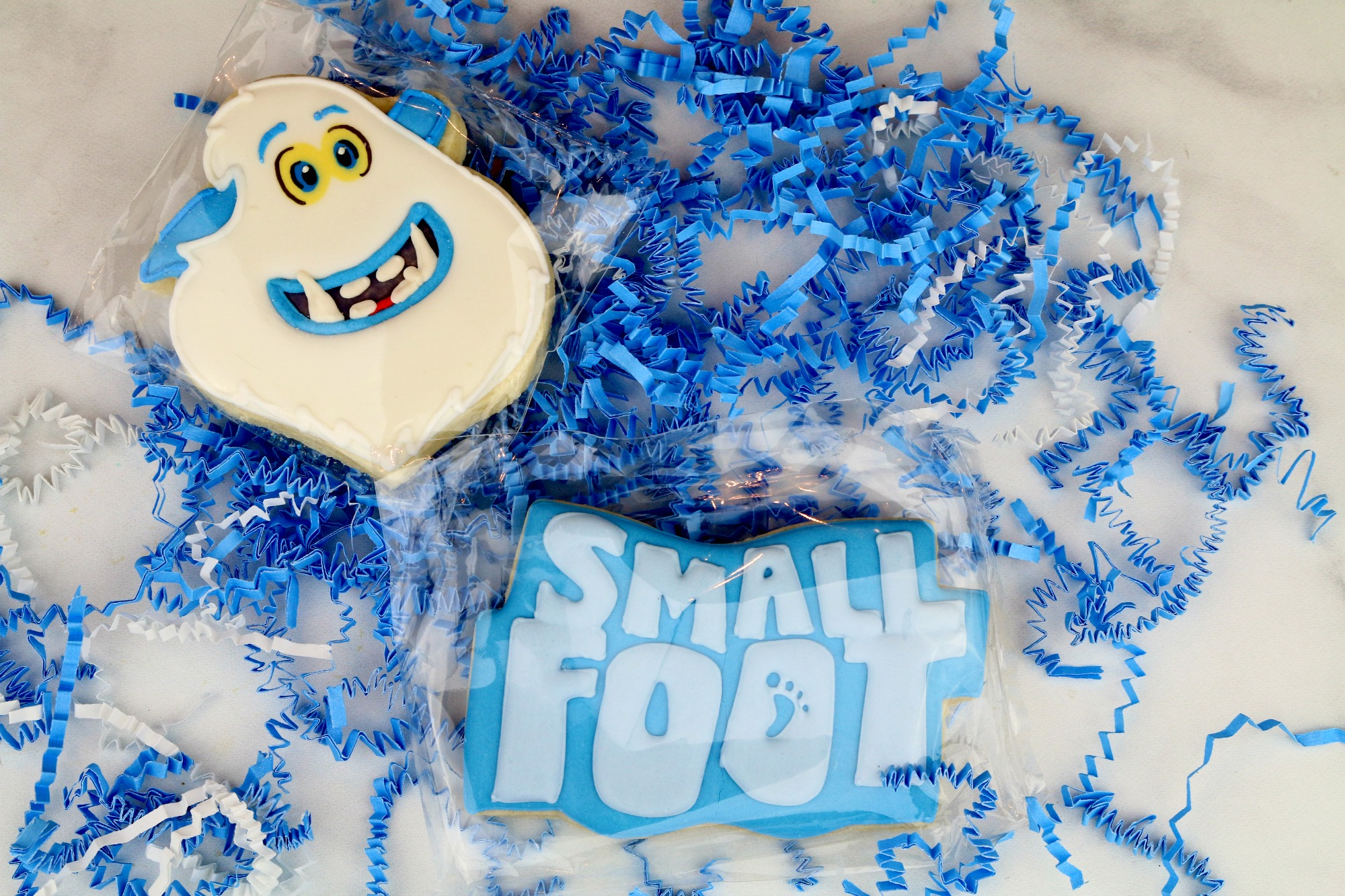 Small Foot Movie Cookies