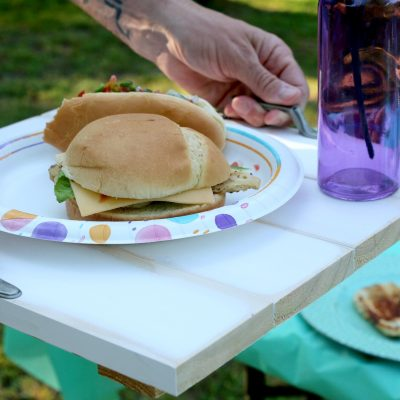 DIY Wooden Serving Tray – Summer Cookout