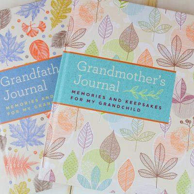 Preserve Memories with Grandparent Journals + Logitech Webcam Giveaway