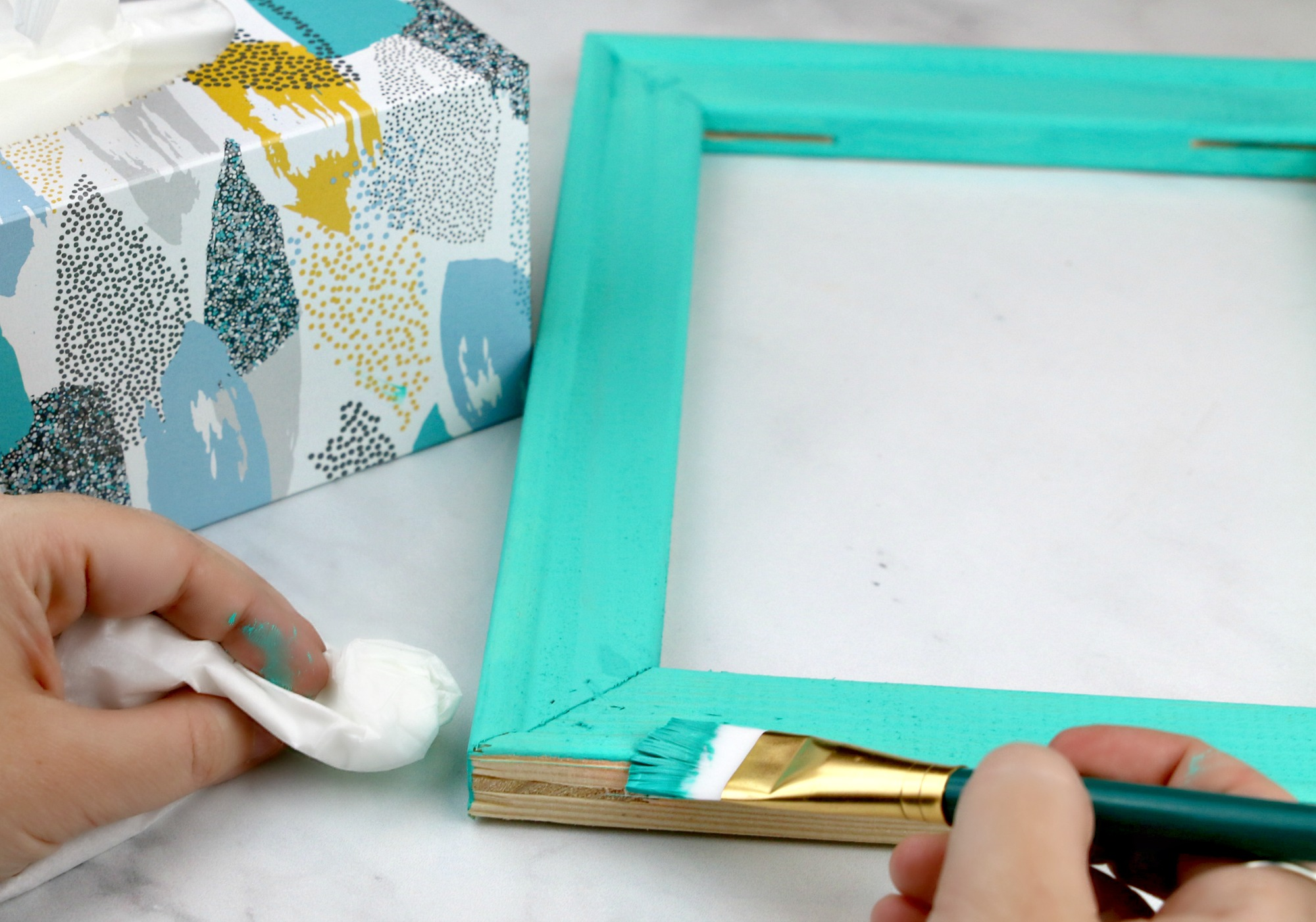 paint frame