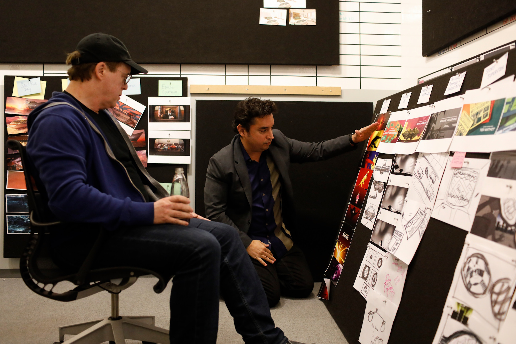 Andrew Jimenez with Brad Bird