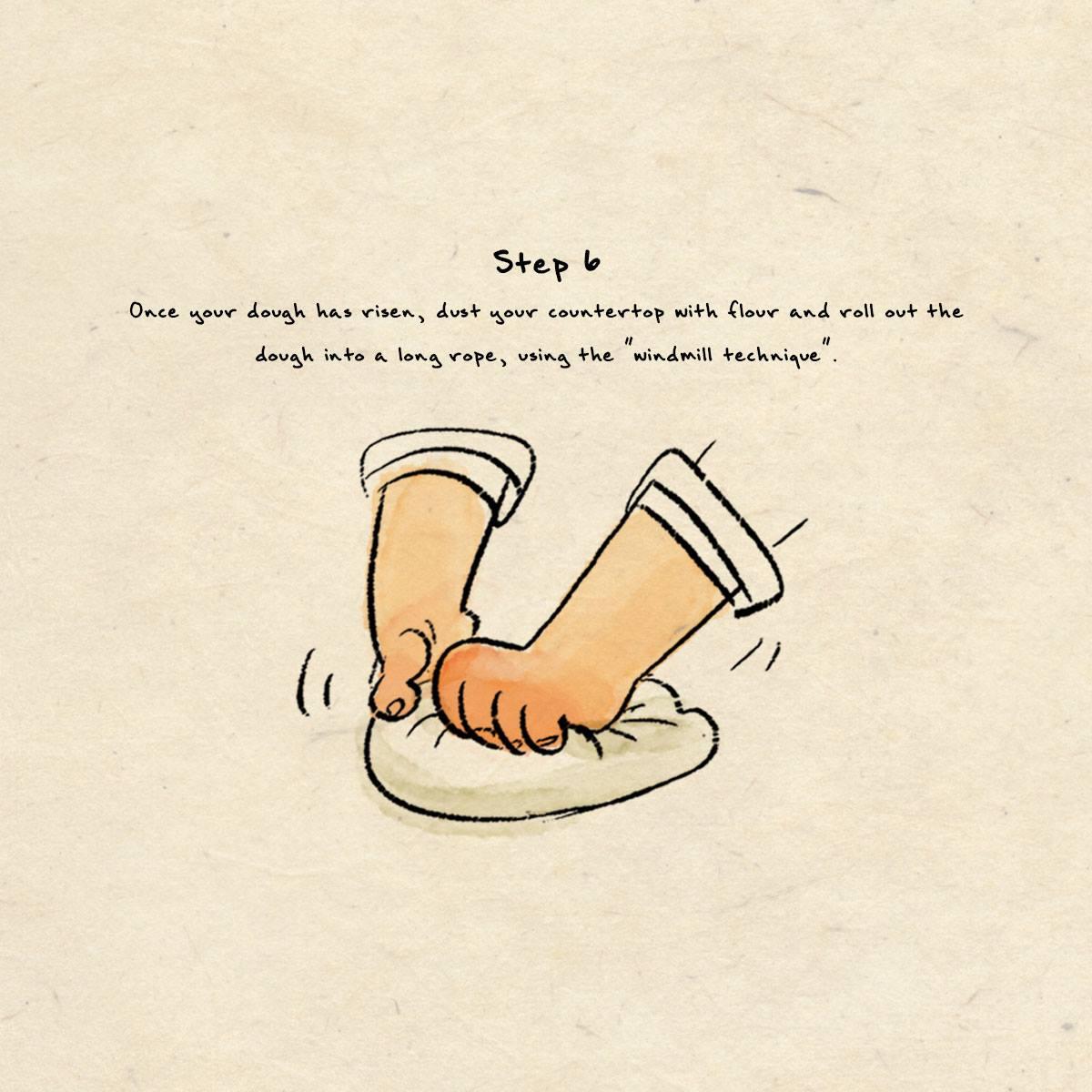 step 6 dumpling recipe
