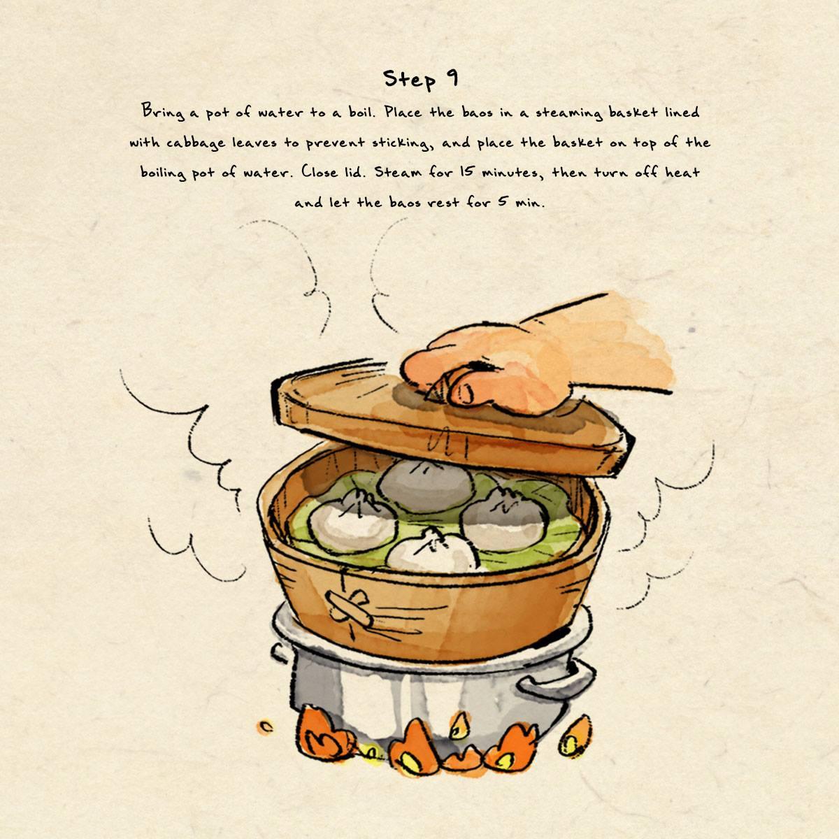 step 9 dumpling recipe
