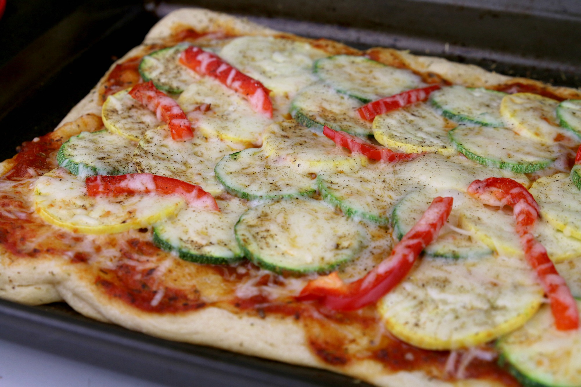 Homemade Ratatouille Pizza