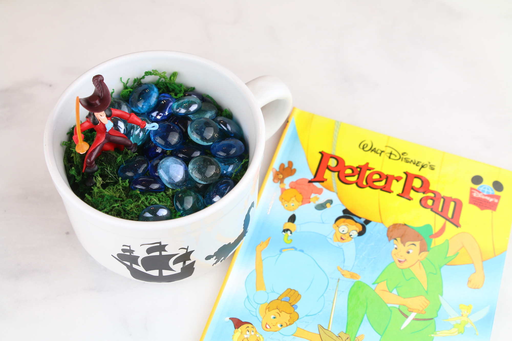 Peter Pan Kid Garden Craft
