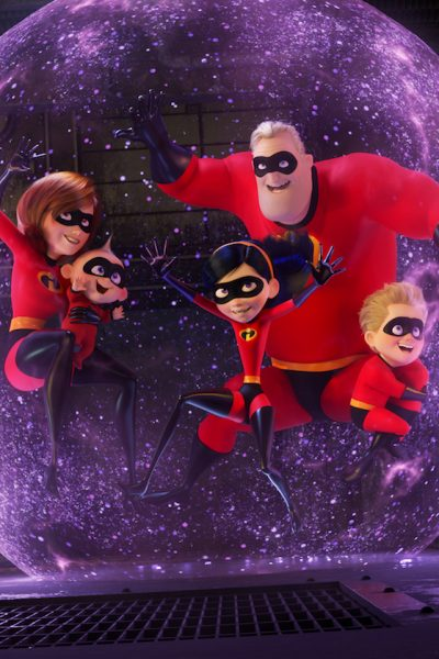 Parr Family Incredibles 2