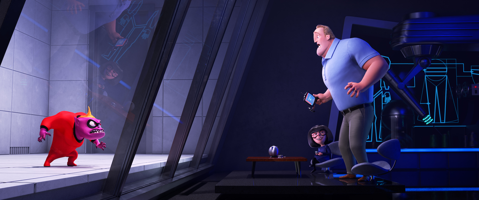 Edna Mode in Incredibles 2
