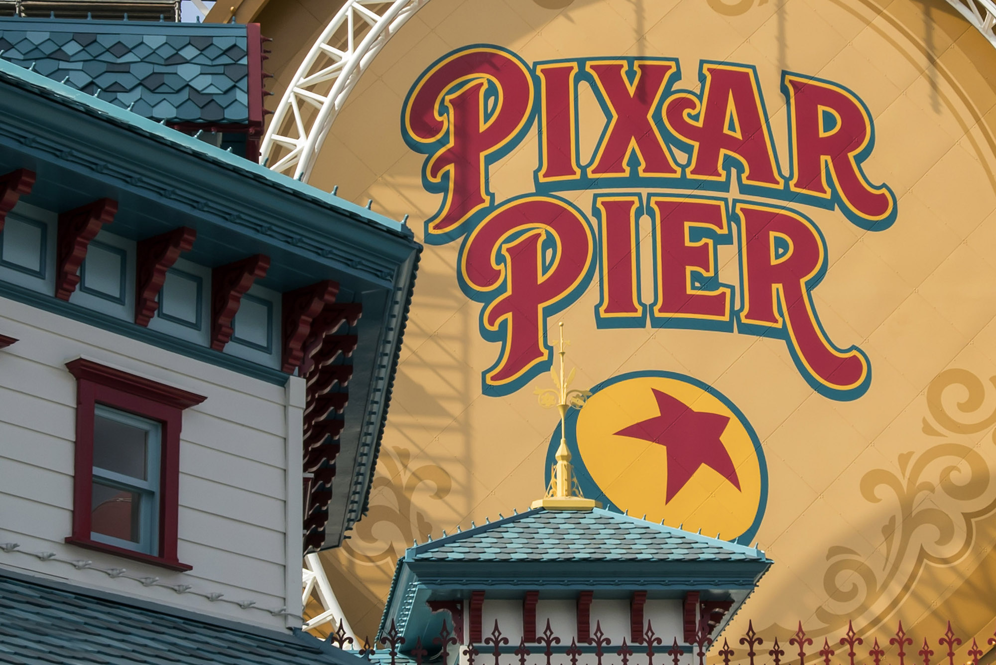Pixar Pier at Disneyland