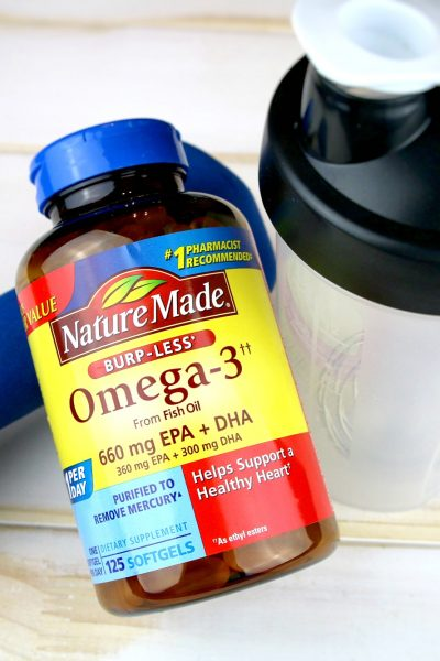 Nature Made Burp-Less Omega-3