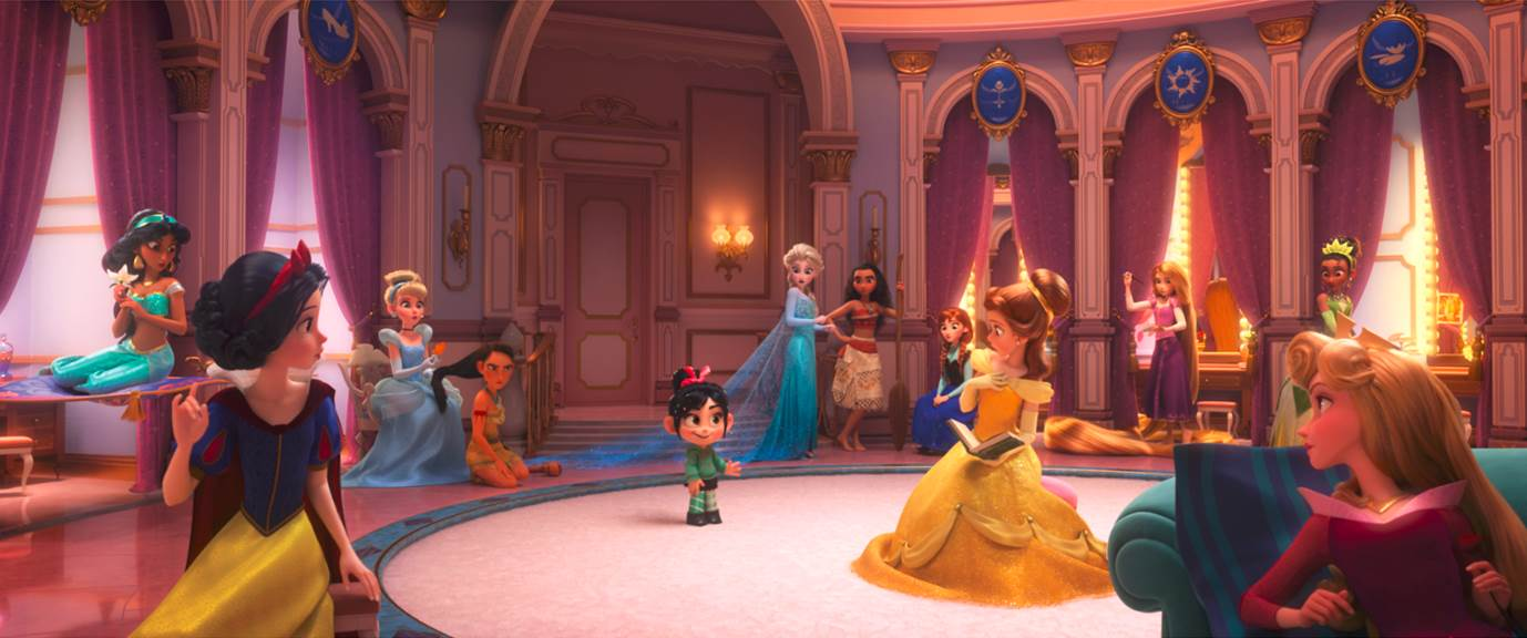 Disney Princesses in Wreck-It Ralph 2