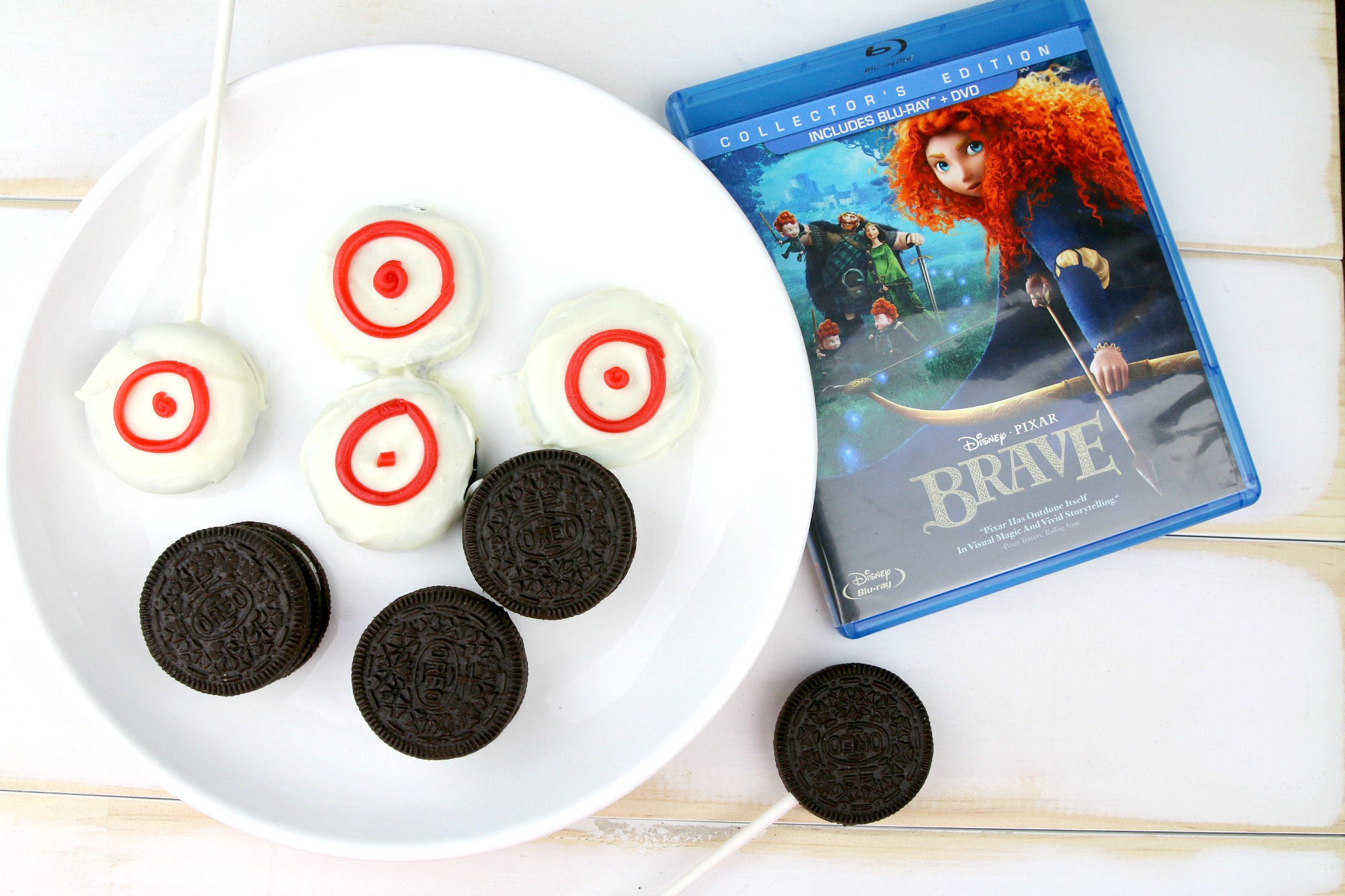 Chocolate Covered Oreo Target Cookies