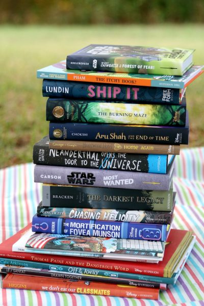 Disney Hyperion Summer Reading List
