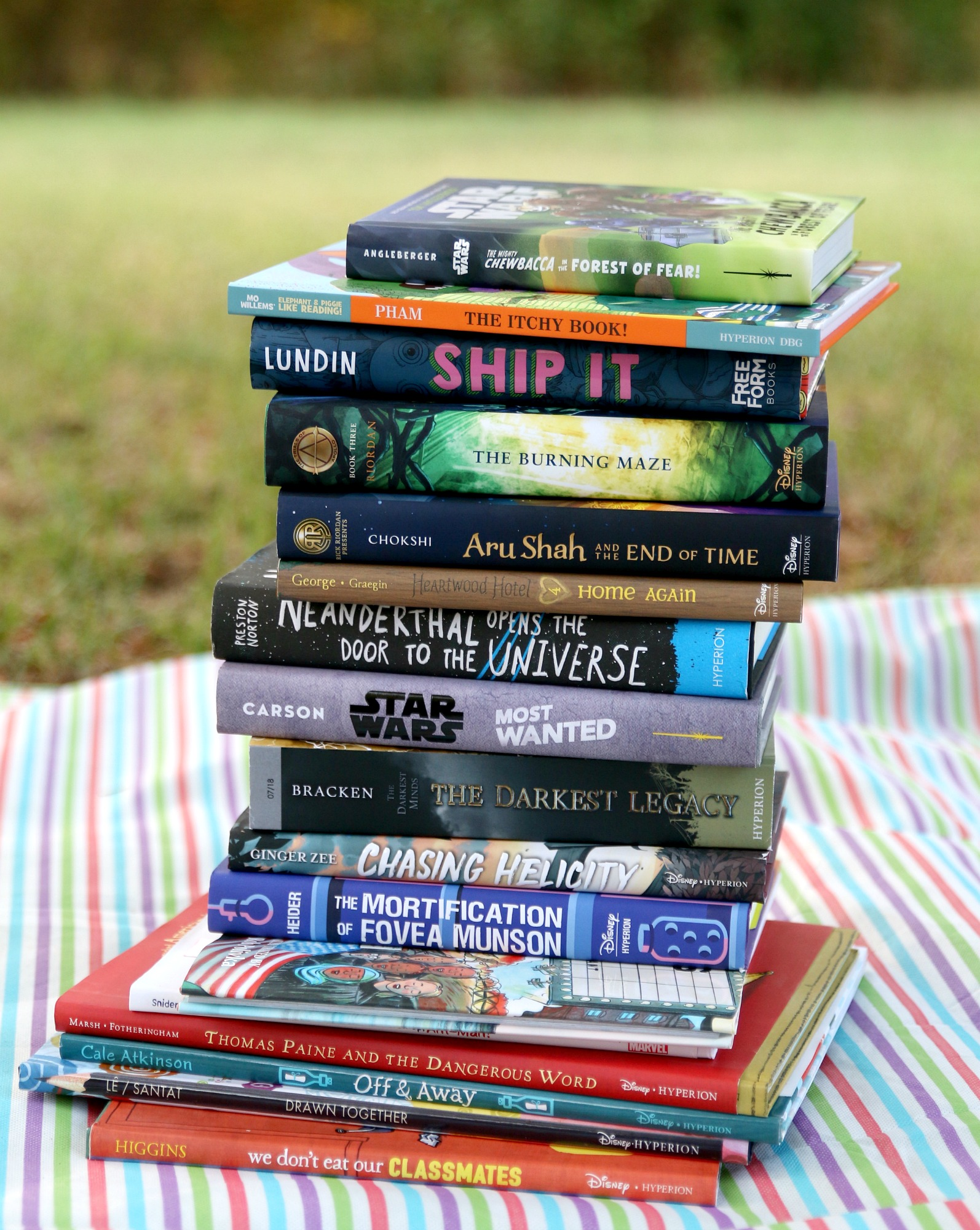 Disney Publishing Summer Reading List