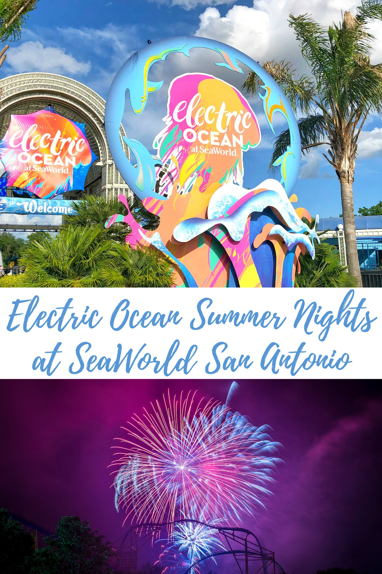 Electric Ocean Summer Nights at SeaWorld