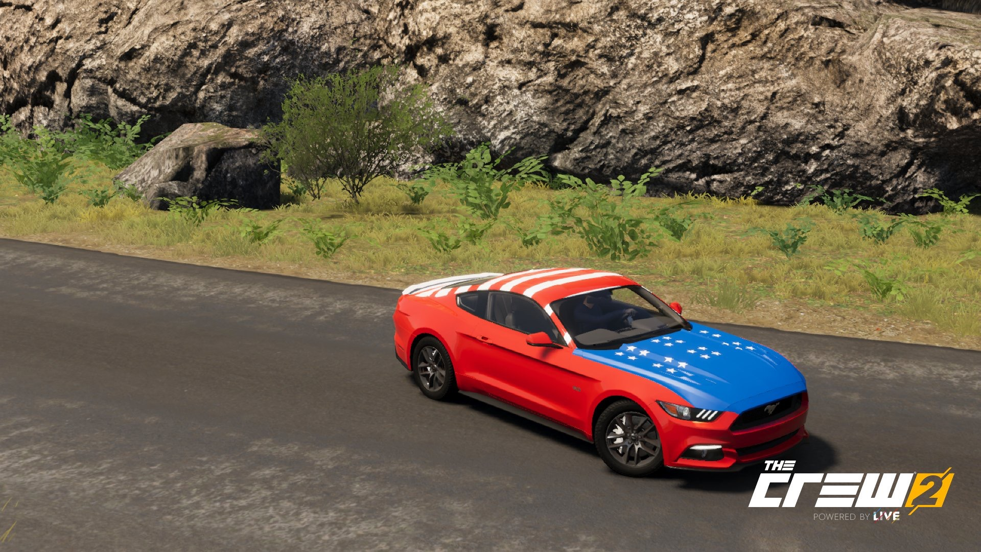 The Crew 2 American Car Wrap