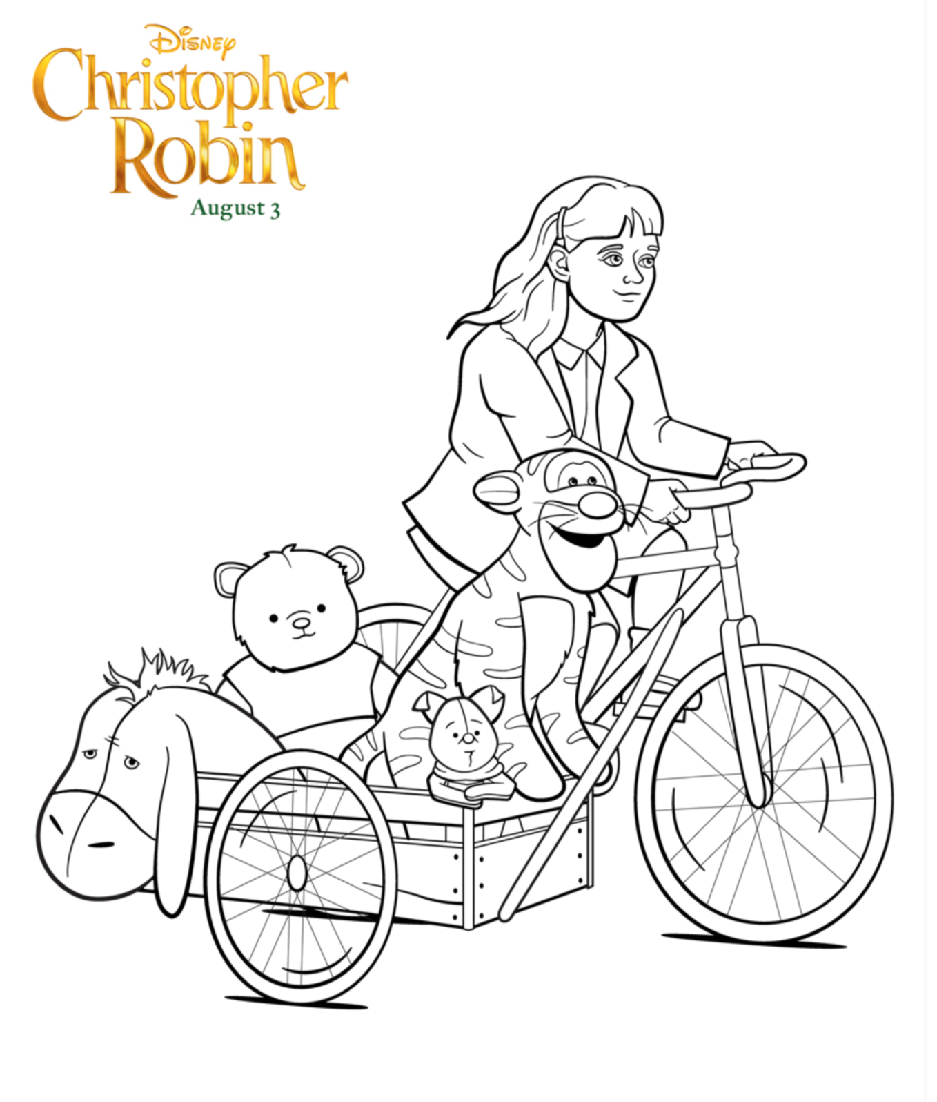 Free Printable Disney Christopher Robin Coloring Pages - Life ...