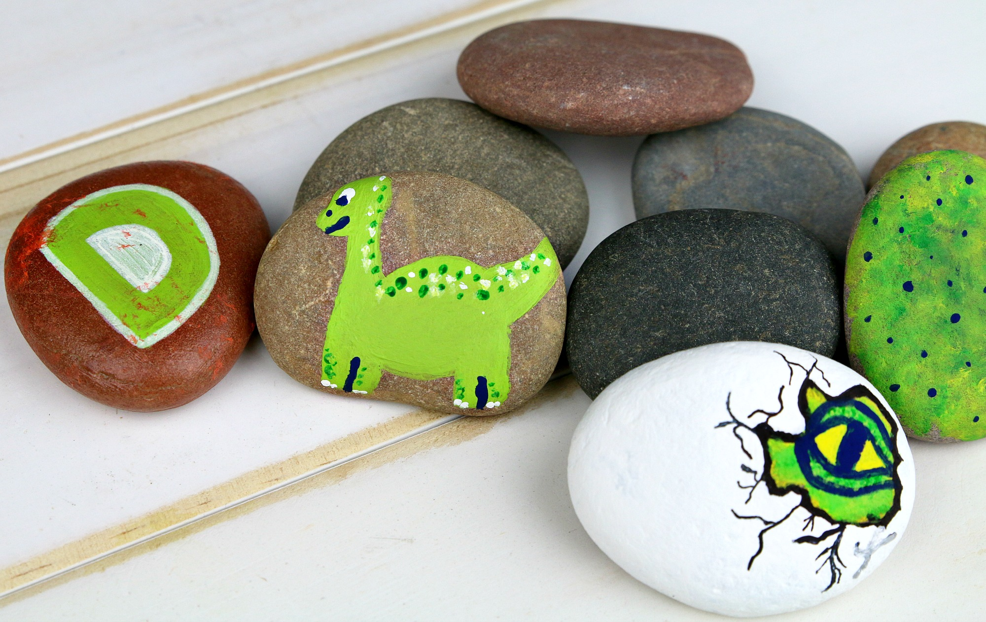 The Good Dinosaur Painted Rocks