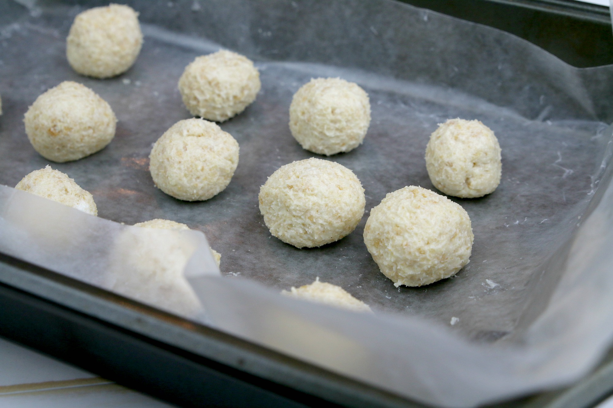 cream cheese truffle balls