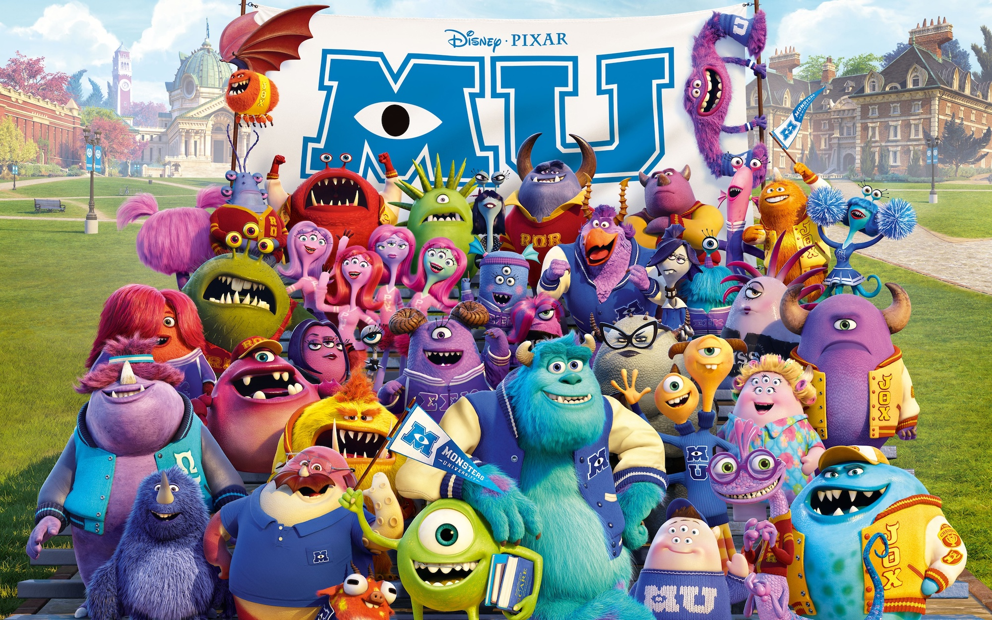 Disney Pixar Monsters University