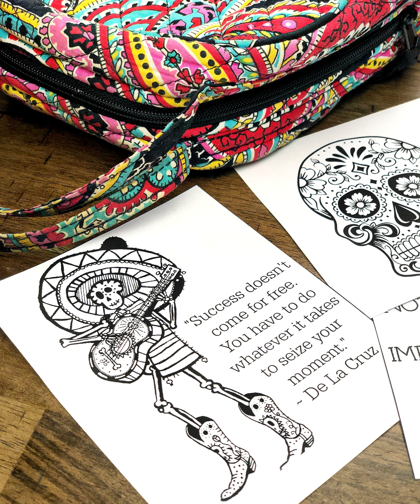 printable disney pixar coco lunchbox notes