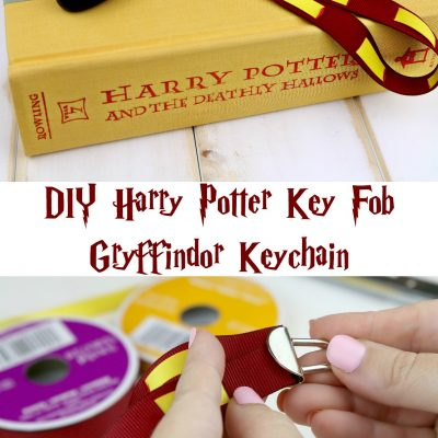 DIY Harry Potter Key Fob – Gryffindor Keychain