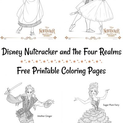 Disney Nutcracker and the Four Realms Coloring Pages – Free Printable