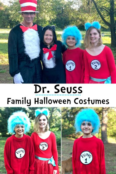 Dr. Seuss Family Halloween Costumes
