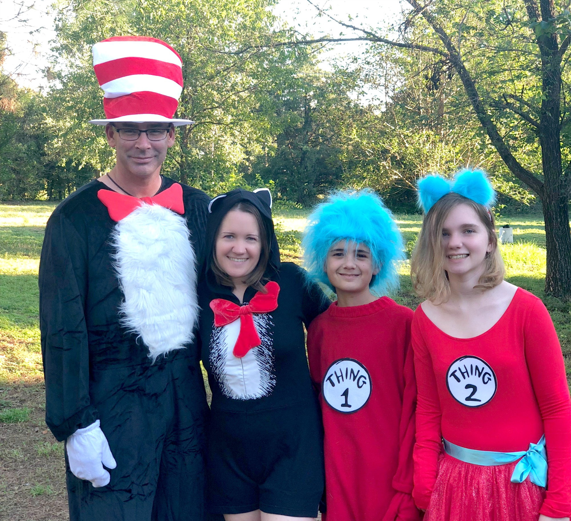 Family Dr. Seuss Costumes