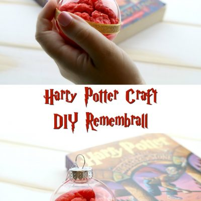 DIY Remembrall – Harry Potter Craft