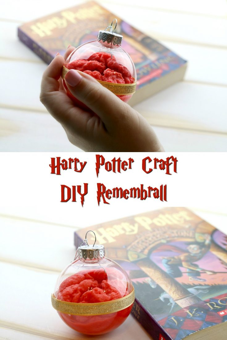 DIY Remembrall - Harry Potter Craft