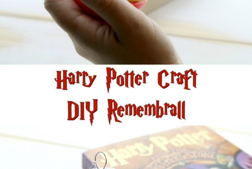 Harry Potter Craft DIY Remembrall