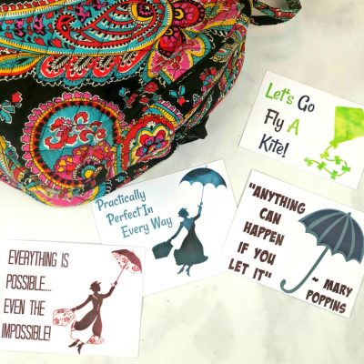 Mary Poppins Printable Lunchbox Notes