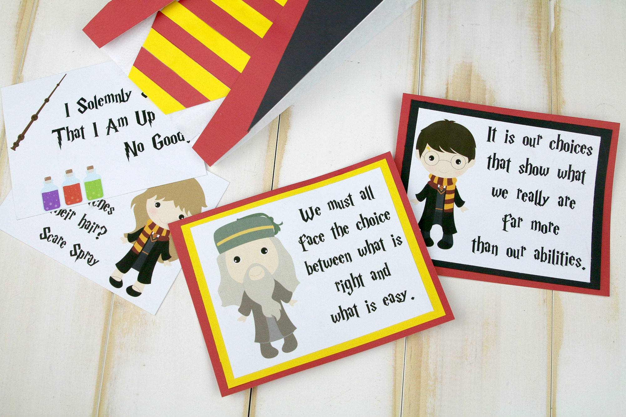 Printable Harry Potter lunchbox notes-2
