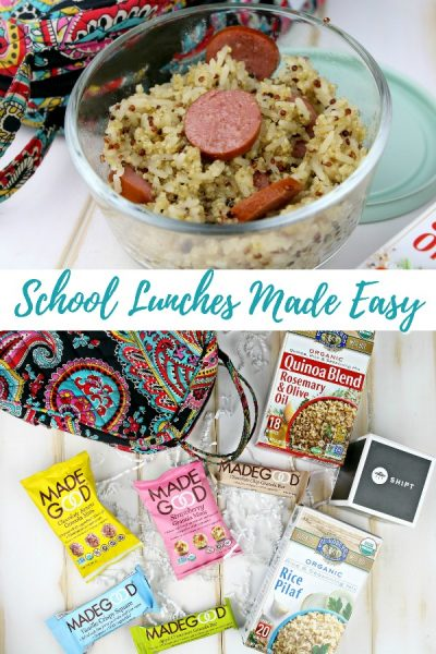 Make Back to School Lunches Easy