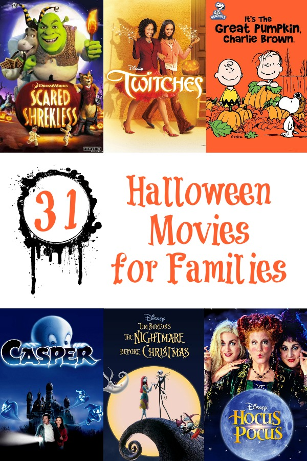 31 Halloween Movies for Families