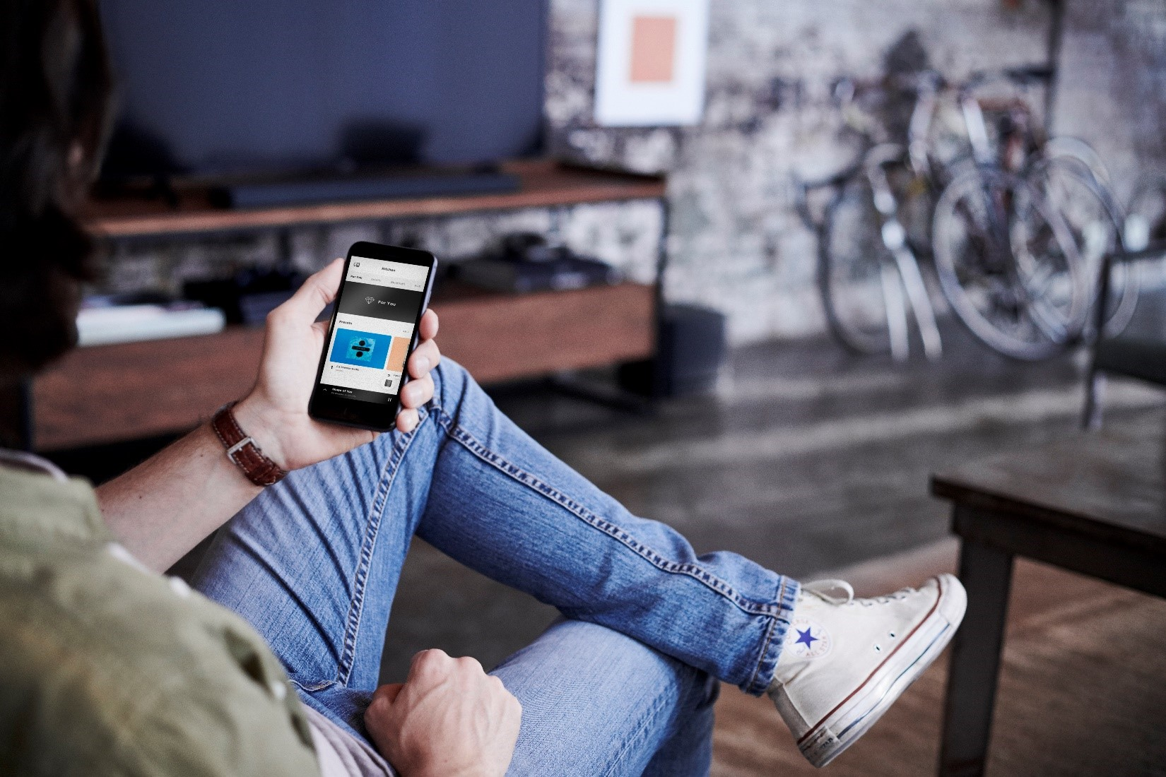 One-Touch access with Bose app