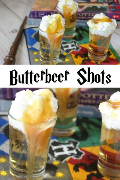 Butterbeer shots recipe