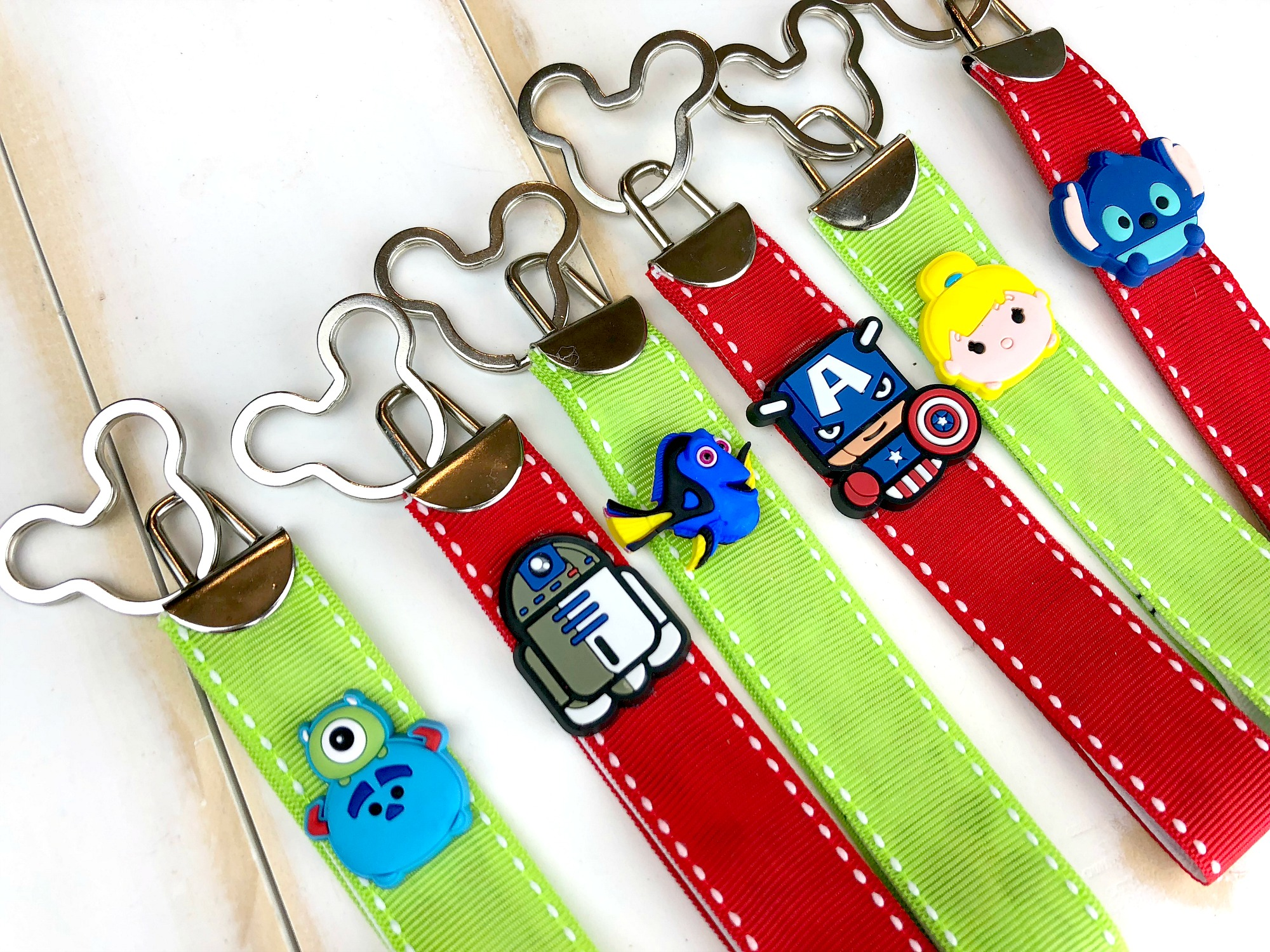 DIY Disney Characters Key Fob