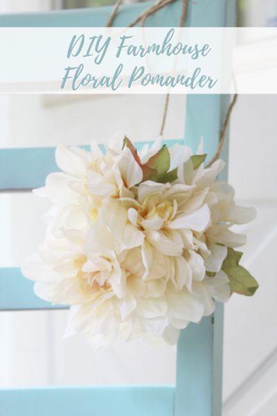 DIY Farmhouse Pomander Ball – Dollar Store Craft