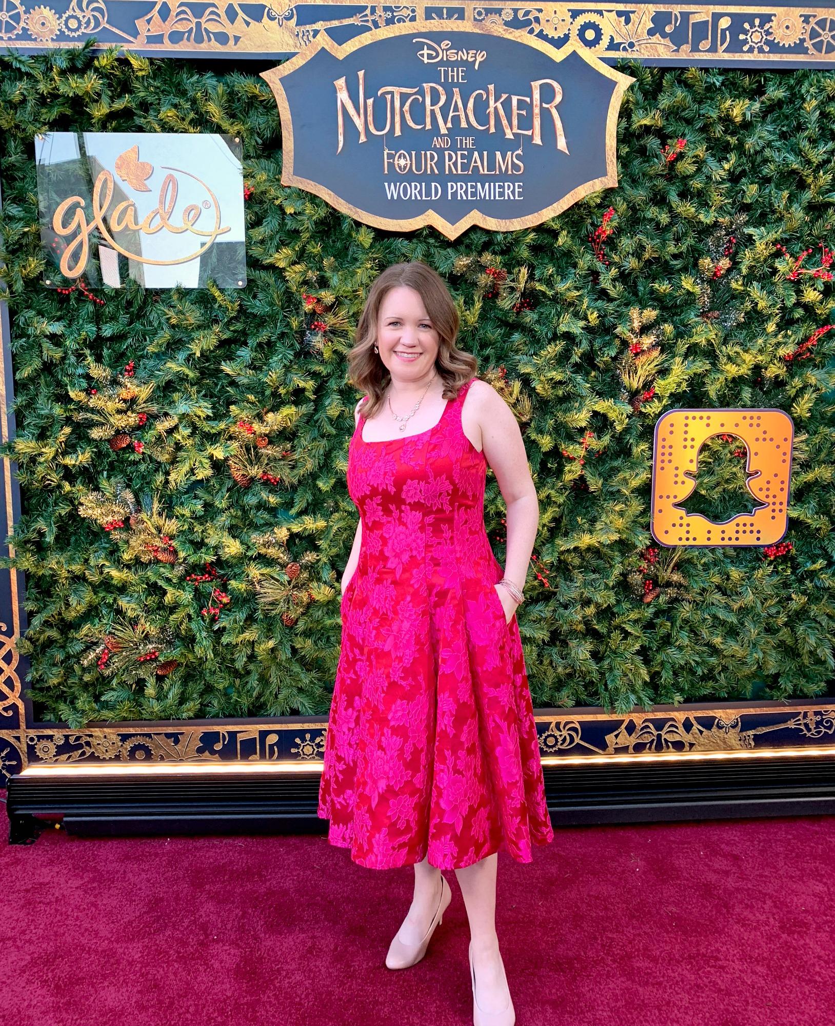 Dwan on Disney's Nutcracker Red Carpet